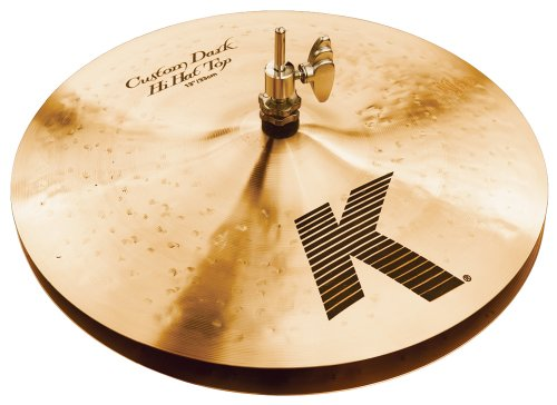 Zildjian K Custom 13-Inch Dark Hi-Hat Cymbals Pair