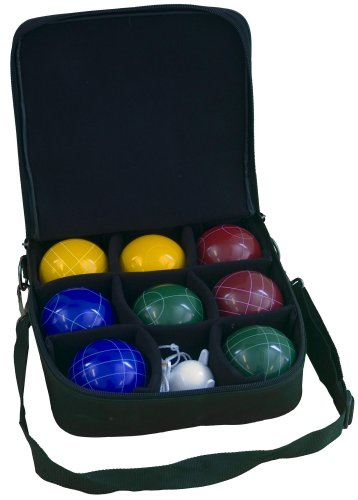 Park & Sun BB-A109 Bocce Pro Set w/ Attache Bag