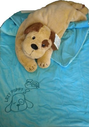 More image Snuggle Buds 3-in-1 Sleeping Bag, Pillow & Plush Animal: Dog