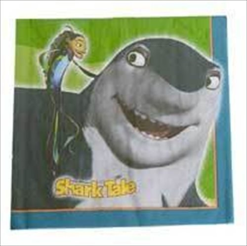 Shark Tale Large Napkins (16ct)