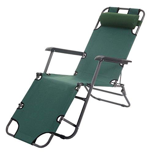Sonnenliege-Dendra-Liegestuhl-Klappliege-Strandliege-Poolliege-Relaxliege-grn