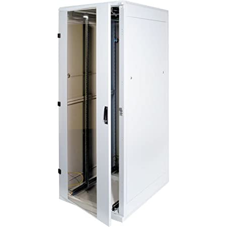 "Triton 19"" Rack 27U/ 600x1000 Glass door - Estantería (Independiente, Gris, 600 x 1000 x 1300 mm)"
