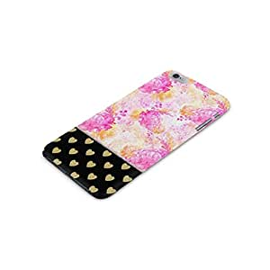 Cover Affair Floral / Hearts Printed Back Cover Case for Apple iPhone 6S Plus