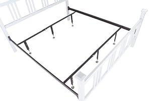 MightyLift QK-18 High Rise Mattress Center Support System, 2 Rails, 3 Legs Each