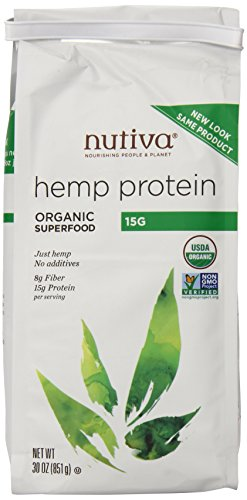 Nutiva Hemp Protein Powder (15 g), 30-Ounce Bag