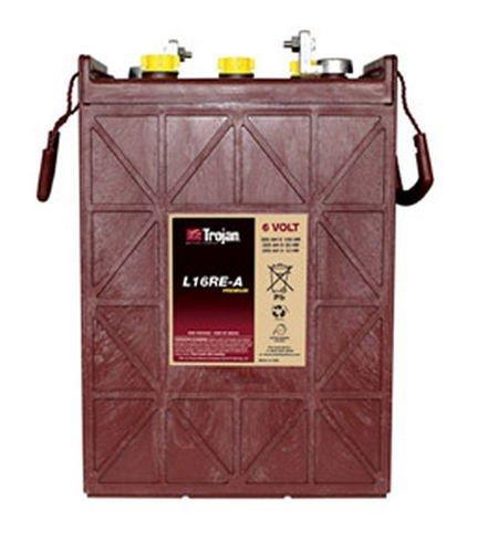 Trojan L16Re-A 325 Ah, 6 Volt Deep Cycle Battery