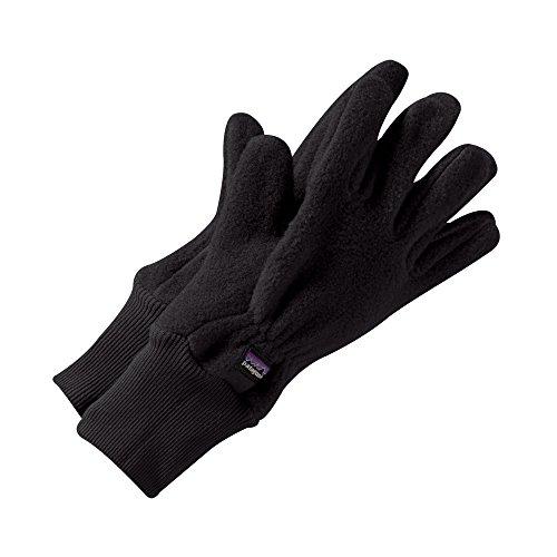 Patagonia Big Boys' Kids' Synchilla Gloves - Black - LG - 12