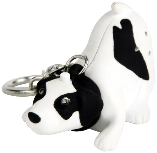 Kikkerland Krl32tc Dog Led Keychain With Sound Picture