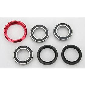 02-11 HONDA CRF450R: PIVOT WORKS REAR WHEEL BEARING KIT (SILVER)