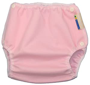 Mother-Ease One-Size Cloth Diaper Cover (X-Large (35-45 lbs), Pink)