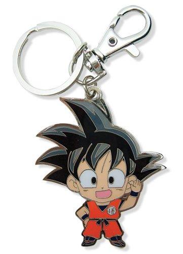 Dragon Ball Z Sd Goku Metal Keychain
