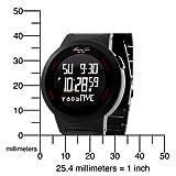 Kenneth Cole New York Men's KC3903 Digital Tech Quartz Multi-Function Stainless Steel Bracelet Watch