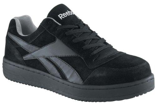 Reebok Men's Work Soyay Steel Toe Sneaker Black 14 M (Steel Toe Loafers compare prices)