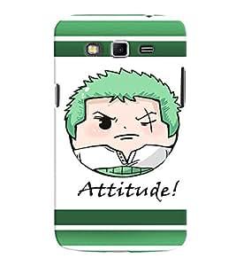 Fuson Premium Attitude Printed Hard Plastic Back Case Cover for Samsung Galaxy Grand 2 G7102 G7106