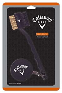 Callaway Club Cleaning Brush with Zinger from Callaway