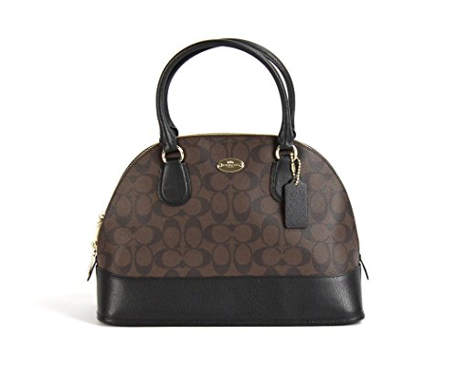 You Save Coach Signature Cora Domed Satchel