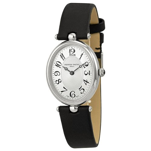 Frederique Constant Art Deco Stainless Steel Ladies Watch 200A2V6