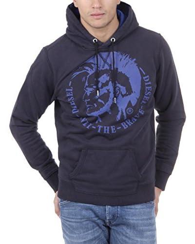 Diesel Kapuzensweatshirt S-Agnes schwarz/blau