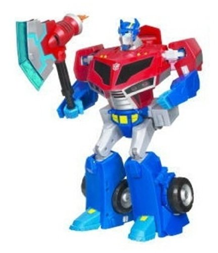 Transformers Animated Supreme Roll-Out Command Optimus Prime