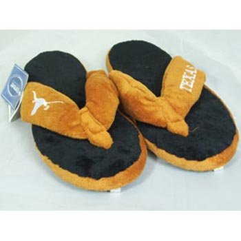 Texas Longhorns NCAA Flip Flop Thong Slippers - XL at Amazon.com