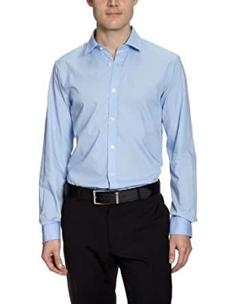 Matinique Herren Businesshemd D41260002Z/Robo, Gr. 48 (S), Blau (21E Heaven)