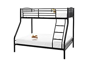 Kuma Triple Sleeper Bunk Bed Colour: White