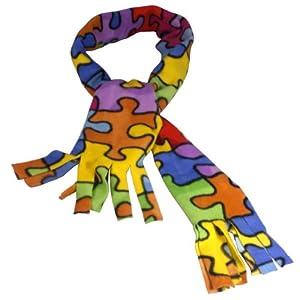 Autism Awareness Scarf