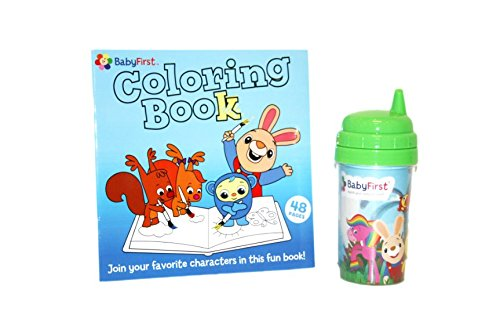 DEAL OF THE DAY - BabyFirstTV BabyFirst Collection (Coloring book and Cup) - WORLD BOOK DAY - 1