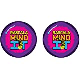 Nsquareshop Rascala Mind It Funky Badge - Set Of 2