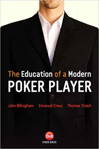 Best poker strategy books reviews pokervip education of a modern poker player strategy book malvernweather Choice Image