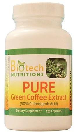 Green coffee bean 50 chlorogenic acid