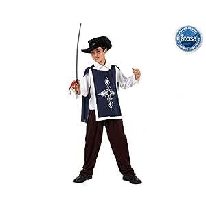 Amazon.com: DISFRAZ DE MOSQUETERO AZUL TALLA 2: Toys & Games