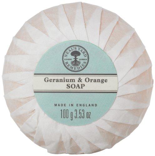 ニールズヤード ゼラニウム&オレンジソープ 100g