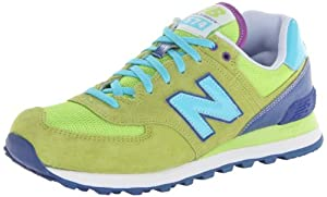 New Balance WL574 W Schuhe 8,5 green/blue