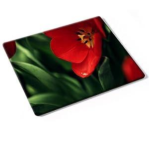 Fiori 10031 fiore rosso mouse pad tappetino per mouse for Tappetino mouse fai da te