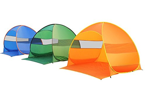 FiveJoy-Pop-Up-Beach-Umbrella-Tent-Cabana-Automatic-Setup-in-Seconds-Great-Sun-Shelter-UV-Protection-Lightweight-Compact-for-Travel-Portable-Shade-Canopy-for-Beach-Park-Picnic-Sports-Kids