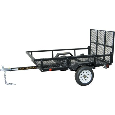 - North Star Trailer Sportstar I Utility Trailer Kit - 4ft. x 6ft.