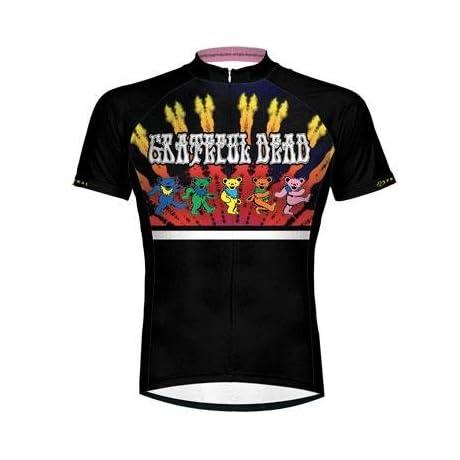 Primal Wear 2013 Men's Grateful Dead Dancing Bears Cycling Jersey