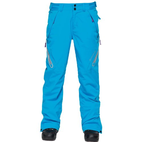 Billabong Juniors Paradise Snowboarding Pant, Bubble Blue, X-Small