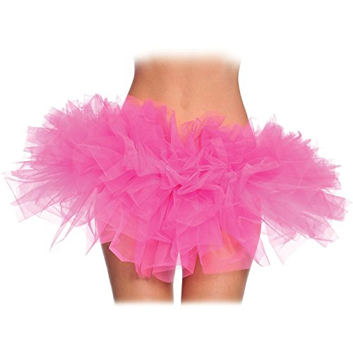 Short Hot Pink Tulle Tutu for Women