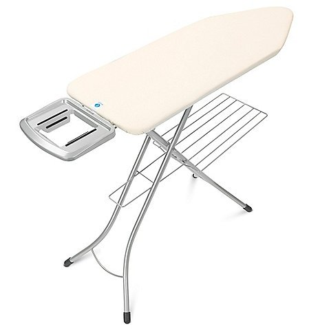 Super Stable, Cheap Xl Comfort Professional Ironing Board with Extra Thick Cushioned Cover, Oversized Work Surface and Rust-resistant Finish (Ironing Board Brabantia compare prices)