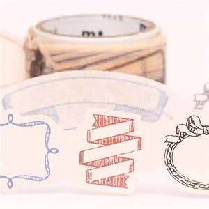 Cinta adhesiva decorativa washi troquel marcos ideal de mt   Más información y revisión del cliente