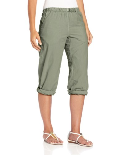 White Sierra Women's Lihue Capri, Sage, Medium