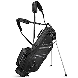 Sun Mountain 2016 Front 9 Stand Bag for Left-Handed Golfer Black