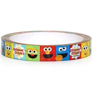 cute Sesame Street Scotch Deco Tape Elmo Cookie Monster