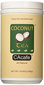 Cacafes Coconut Tea in Jar #28526 (Cane Sugar Added)
