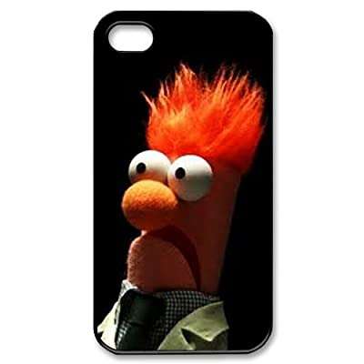 Custom Design New Style Funny Beaker Muppets Legend Cover Hard Plastic iphone 4 4S Case UCFC-00007 (4)