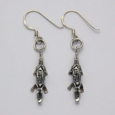 Movable Alligator Earrings