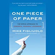 One Piece of Paper: The Simple Approach to Powerful, Personal Leadership | [Mike Figliuolo]