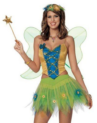 Adult Costumes Woodland Fairy Women's Costume